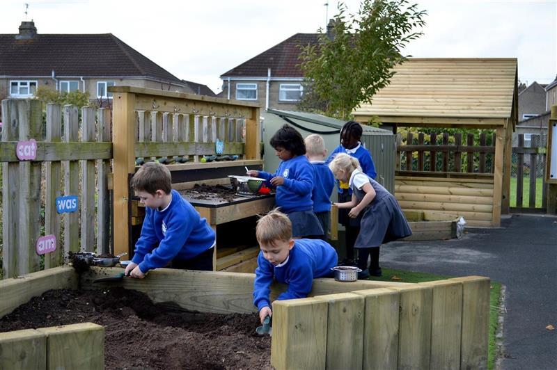 pollinator friendly school playground