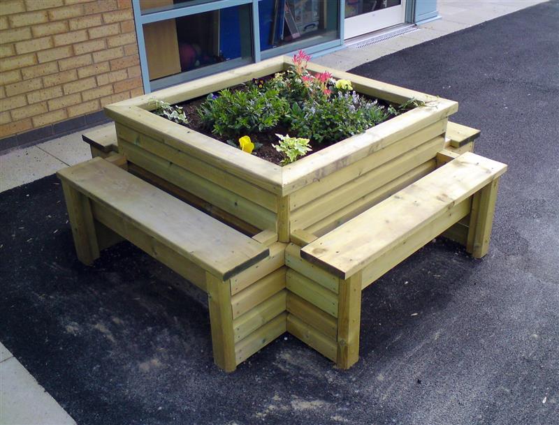school planter