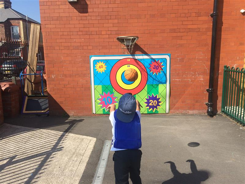 ball targets for schools