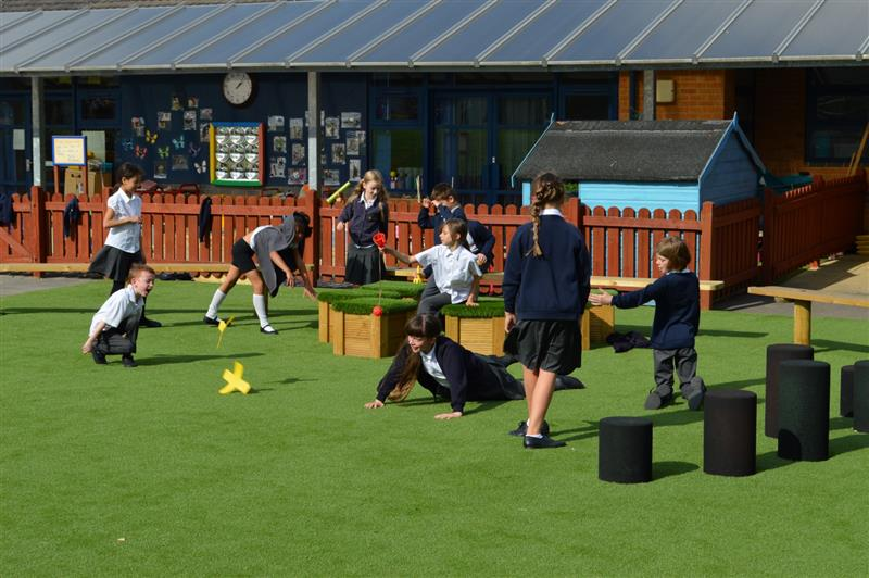 outdoor learning space