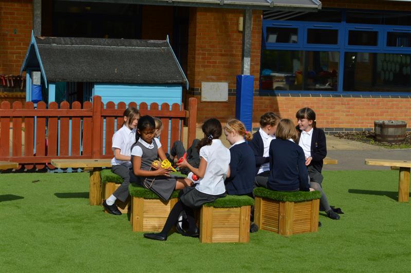 playground seating for SEN childeren