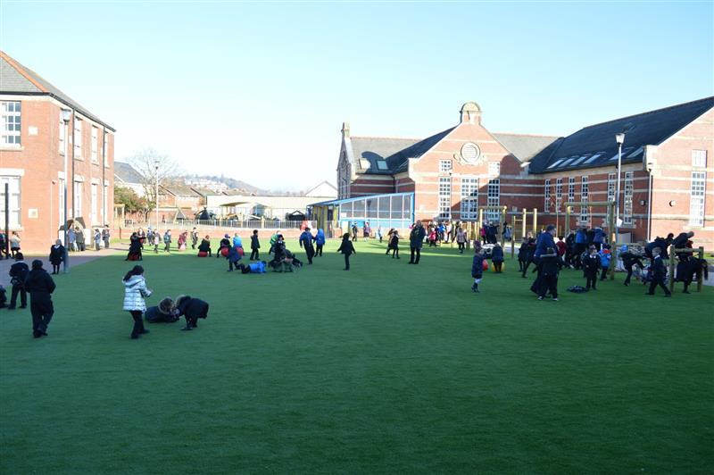 school playground