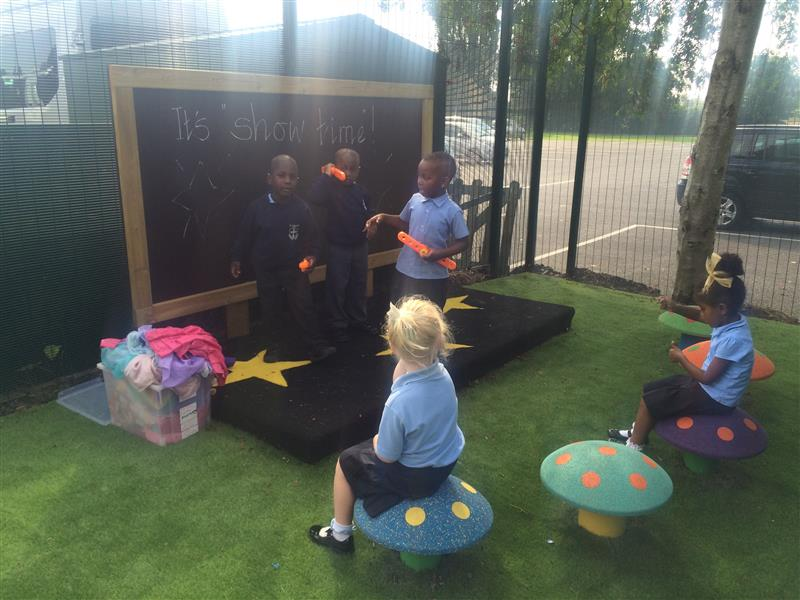 Outdoor Performance Stage For Early Years
