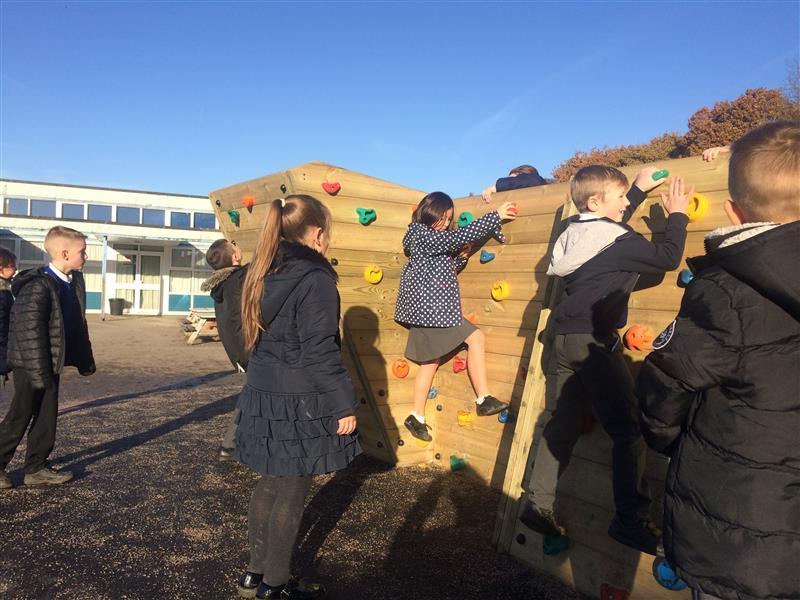 Bouldering Playground Climbing Wall