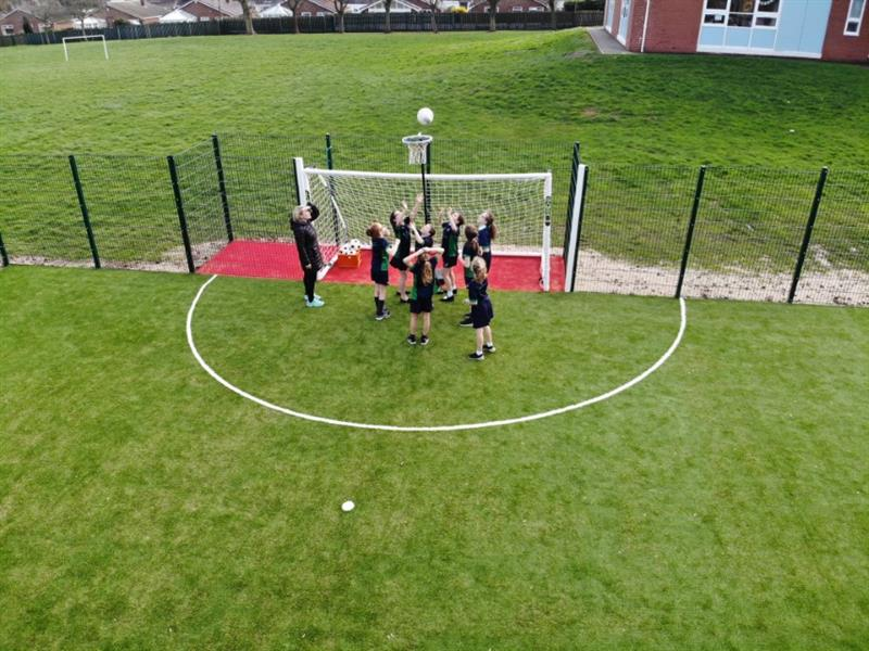 school multi use games area