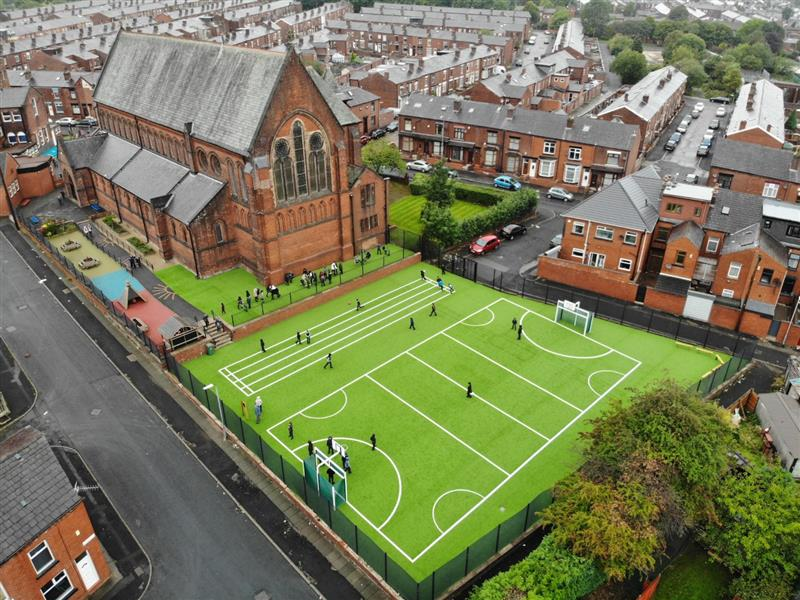 artificial grass for schools