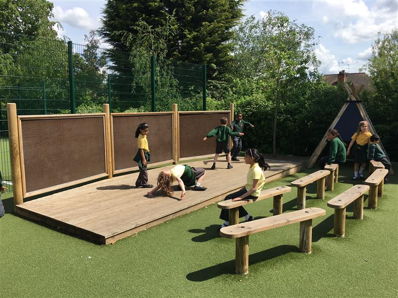 performing arts in the playground
