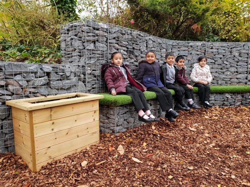 bespoke playground seating