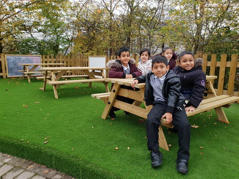 picnic tables for school playgrounds