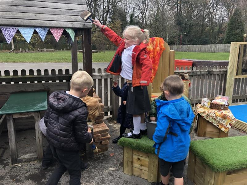 eyfs role play ideas