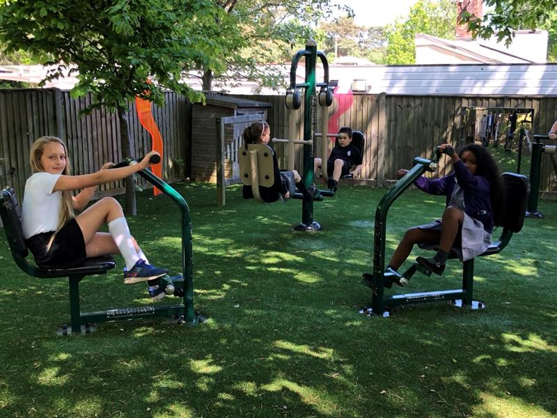 outdoor gym equipment for schools sports premium