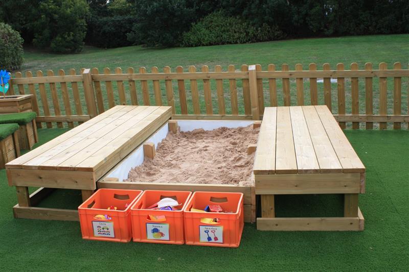 eyfs sand box