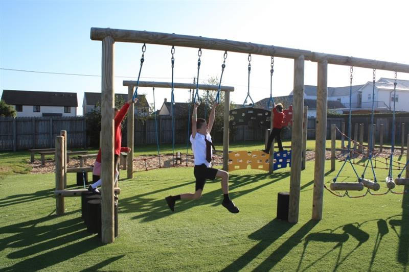 Trim Trails For School Playgrounds
