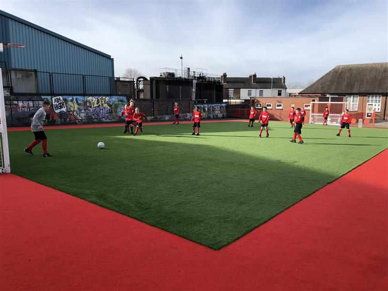multi use sports pitch