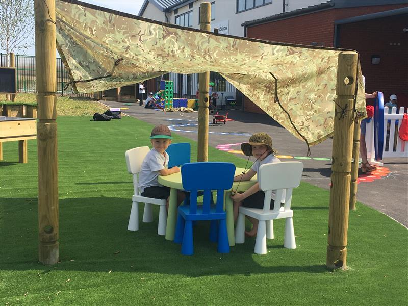 playground den making ideas for schools