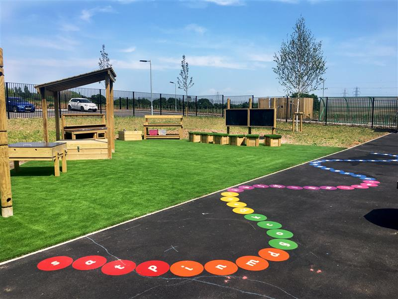 eyfs playground markings