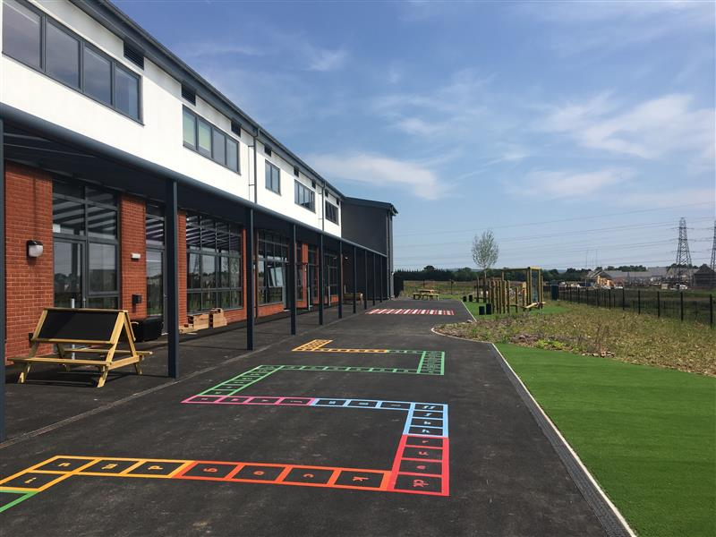 playground markings for eyfs