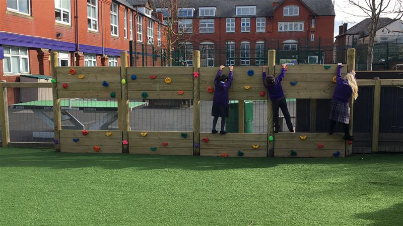 Climbing Wall for School Playgrounds