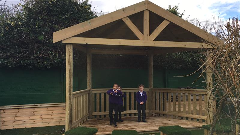 Performance Stages For School Playgrounds