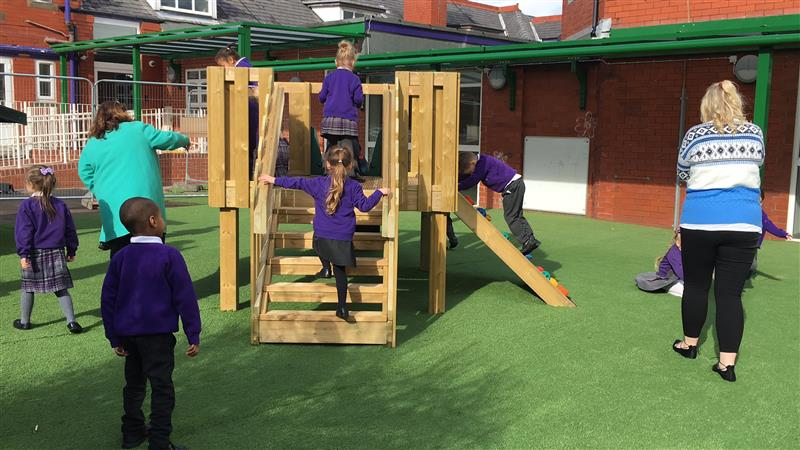 Playground Play Tower For EYFS