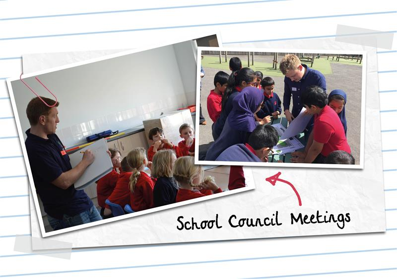 school council meetings with pentagon Play