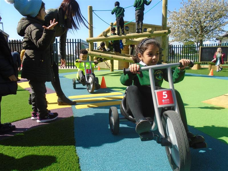 road ways for early years playgrounds