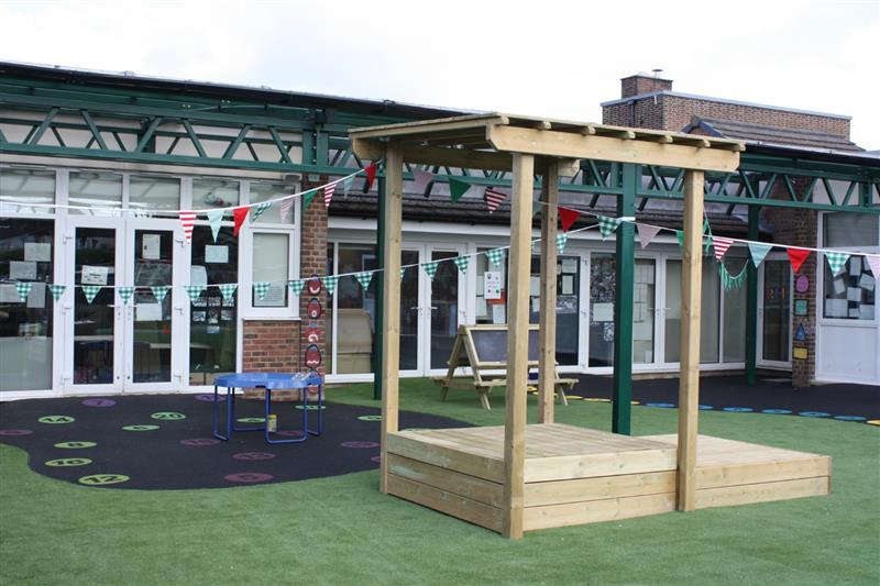 sand pit for early years