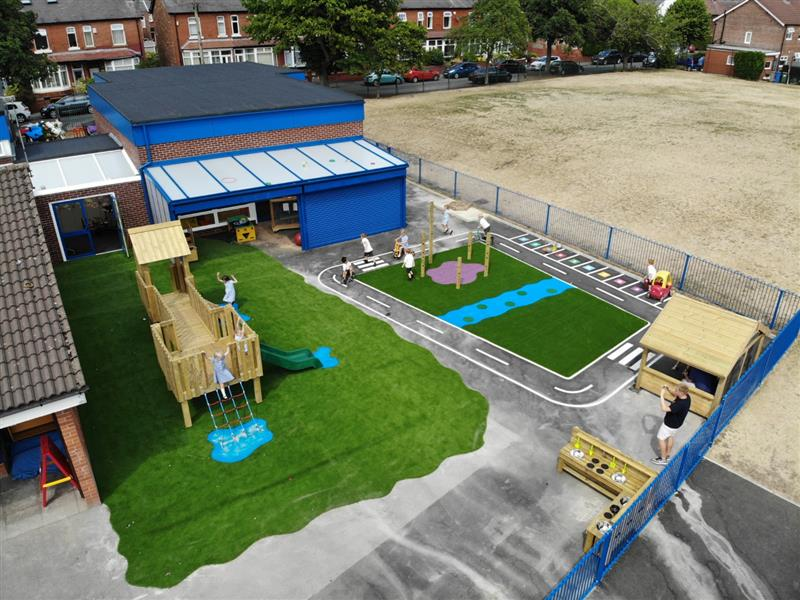 eyfs playground ideas