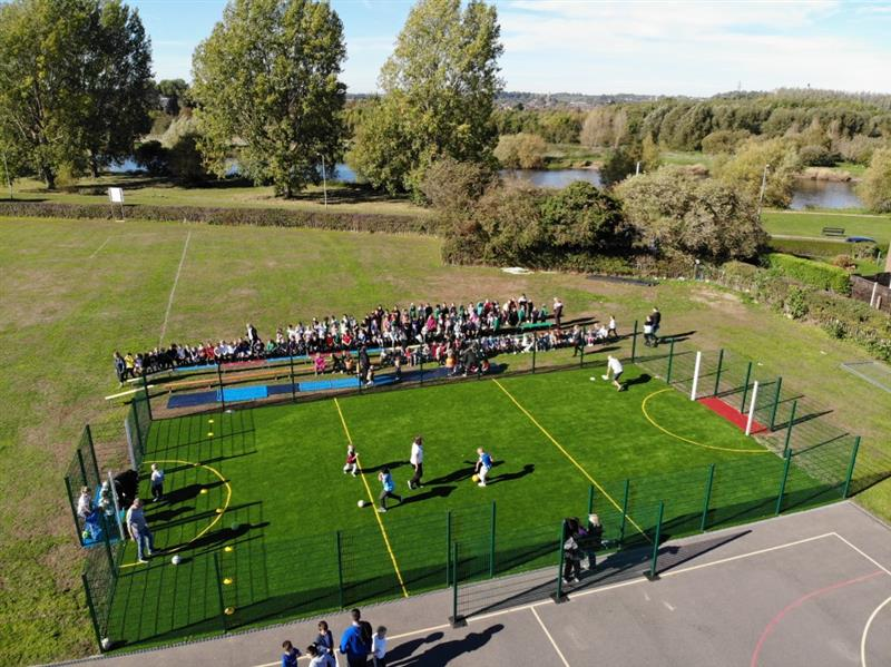 multi use games area for schools