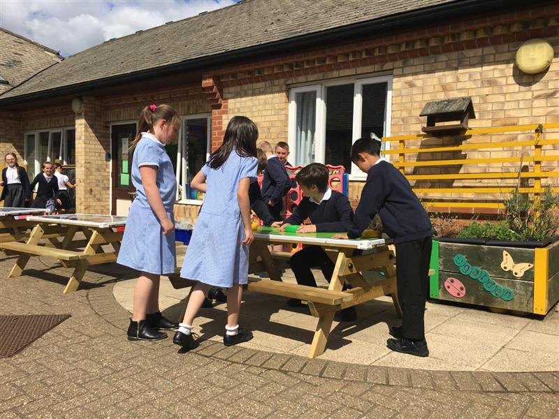 picnic tables for schools