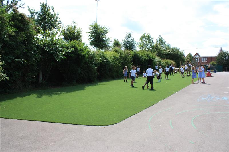 Artificial Grass Playground Surfacing