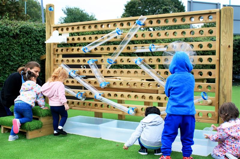 water wall preschool