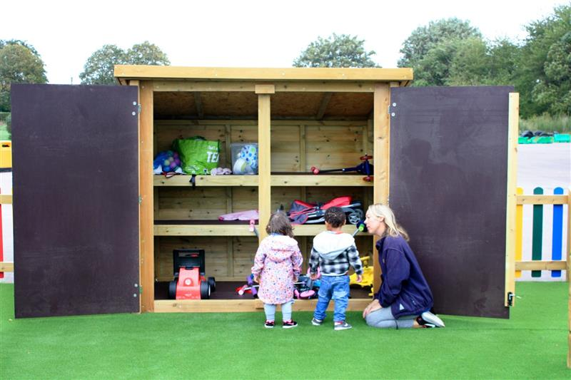 playground storage solutions