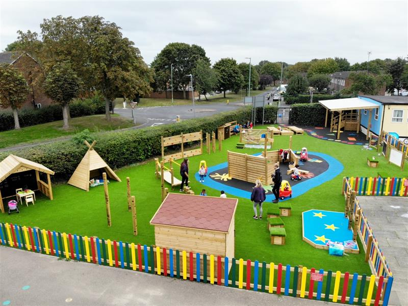 preschool playground ideas