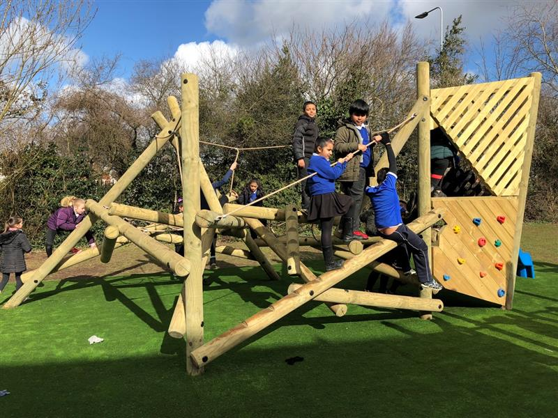 climbing frame for schools