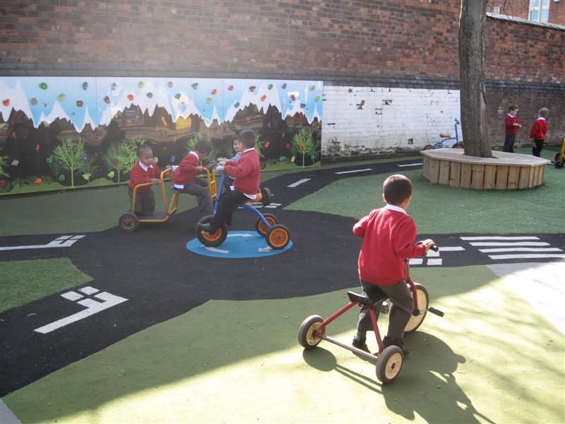 playground roadway