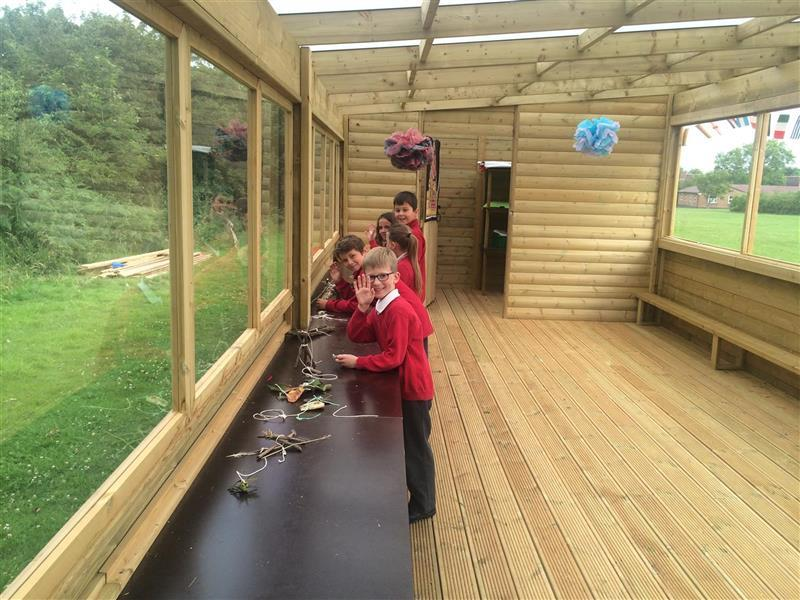 outdoor science cabin
