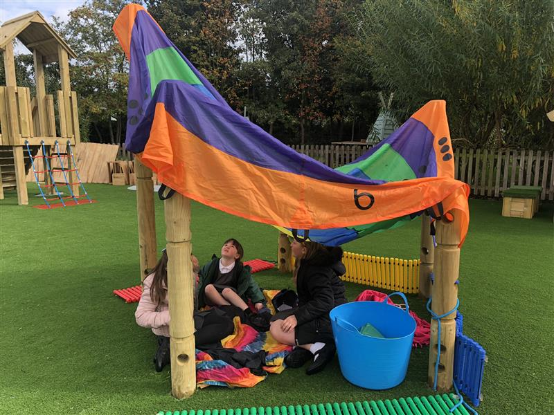 Playground Dens For Primary Schools