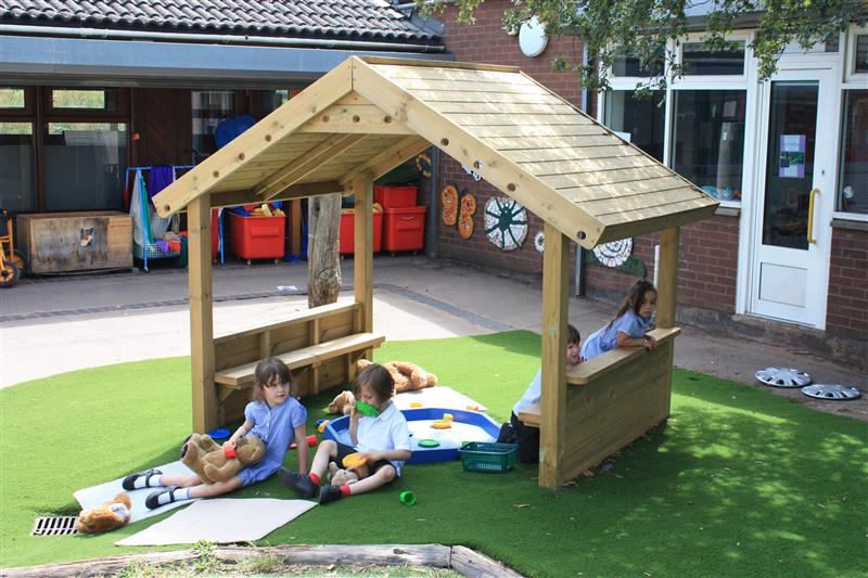 School Playground Playhouses