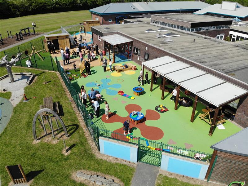 SEN School Playground Surfacing