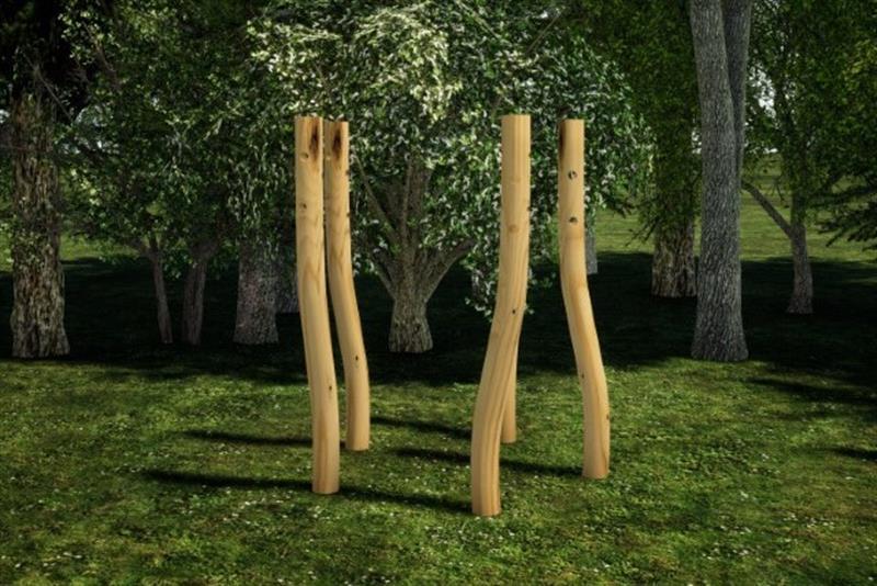Robinia Playground Equipment