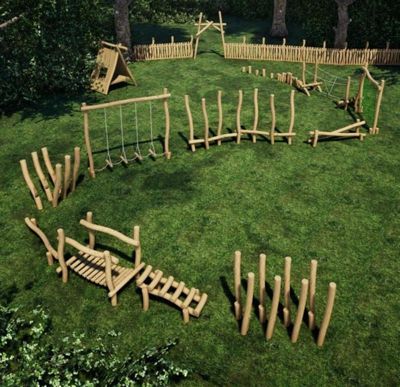School Robinia Playground Equipment