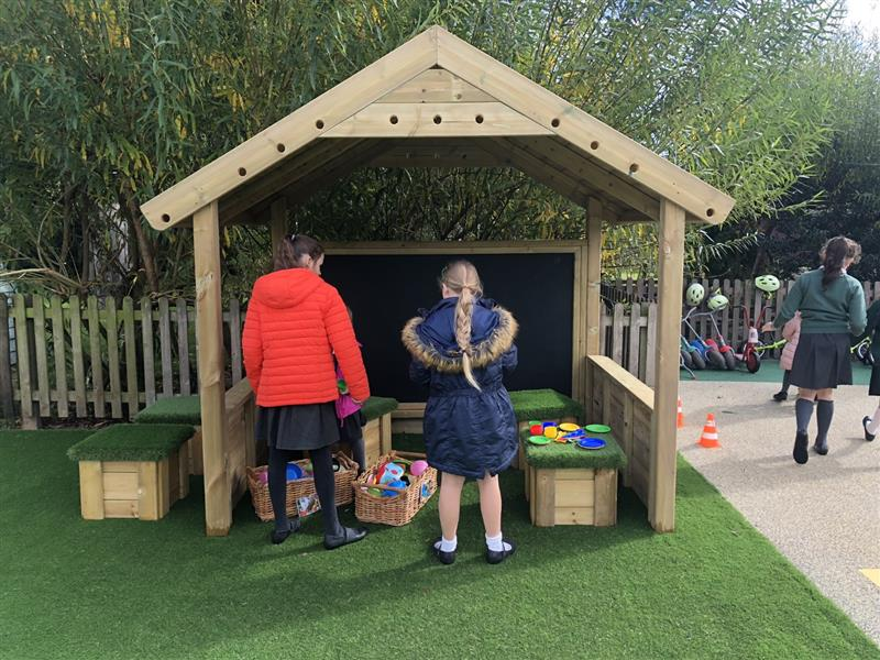 giant playhouse for schools