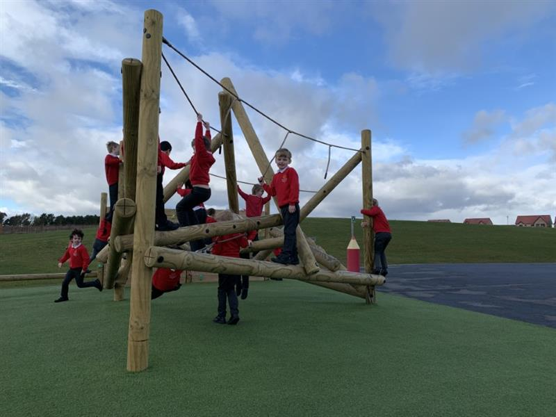 adventure play equipment for schools