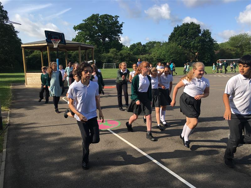 Daily Mile Tracks For Primary Schools