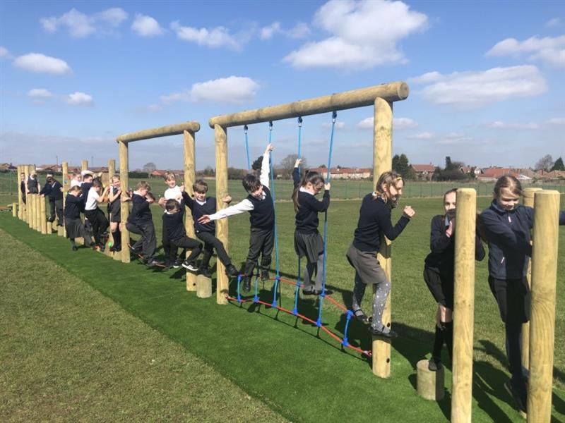 Trim Trails For Primary Schools
