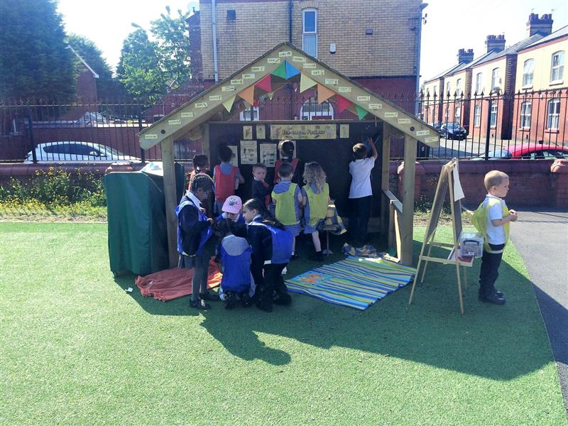 play house for schools