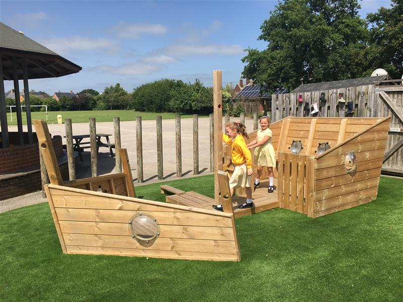 Playground Play Ships for schools