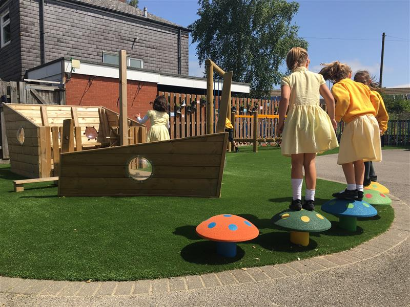 Themed Playground Equipment For Schools