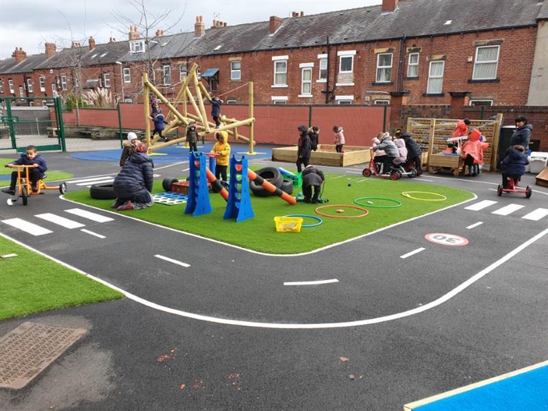 eyfs playground equuipment